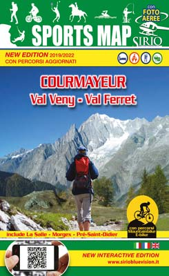 Courmayeur Sports Map